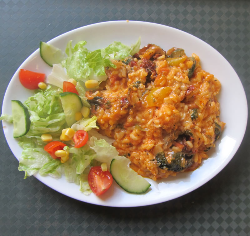 Vegetarian Rissotto